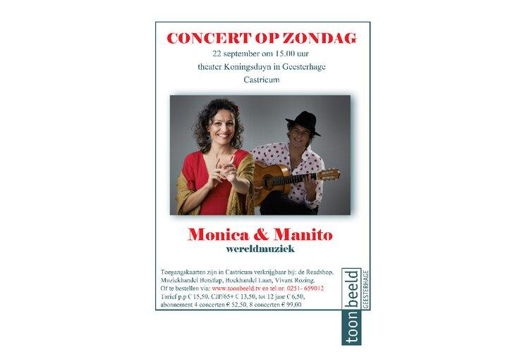 Mónica Coronado  &  Manito