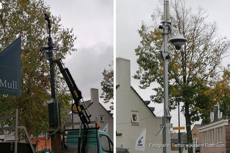 Extra beveiligingscamera's in uitgaansgebied Castricum