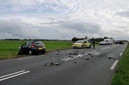 Frontale aanrijding op N203 in Castricum
