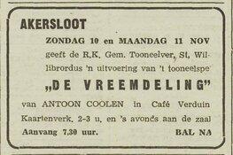 Honderd jaar Toneelvereniging Willibrordus