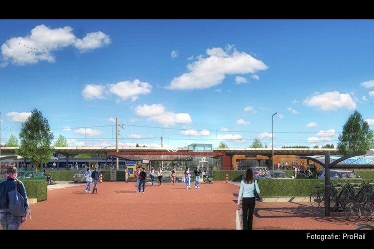 Verbouwing station Castricum loopt vertraging op