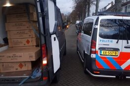 Politie vindt grote hoeveelheid vuurwerk in busje Castricum