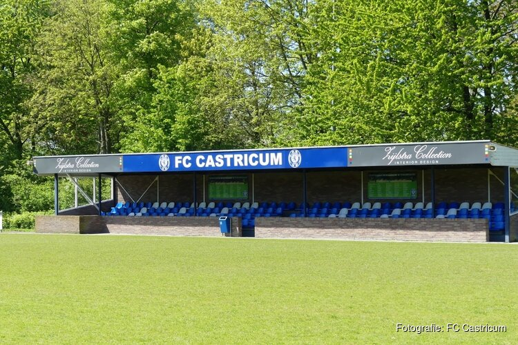 FC Castricum met goed gevoel winterstop in
