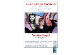 Twee nieuwe sterren treden op in Theater Koningsduyn bij Toonbeeld Concert op Zondag